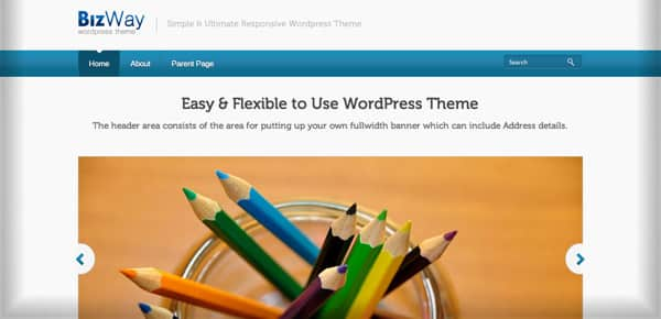 Theme WordPress Gratuit - Bizway