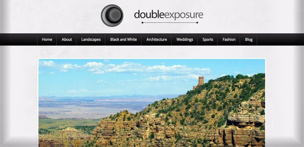 Theme WordPress Gratuit - Double Exposure