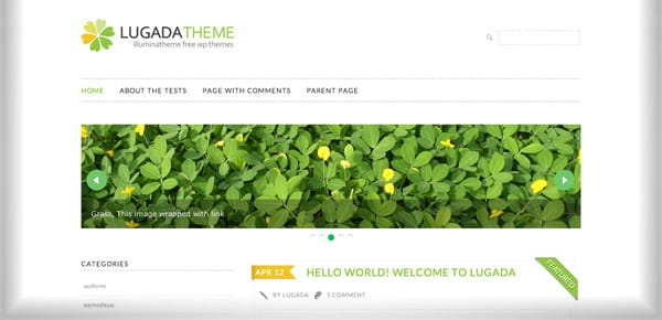 Theme WordPress Gratuit - Lugada