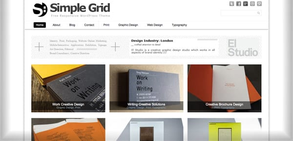 Theme WordPress Gratuit - Simple Grid
