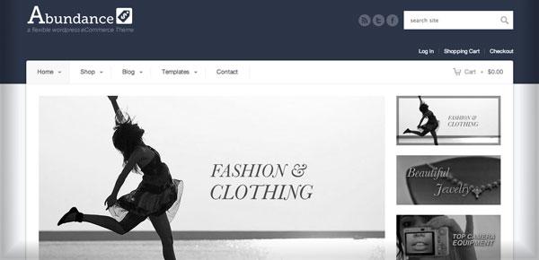 Theme WordPress - Abundance