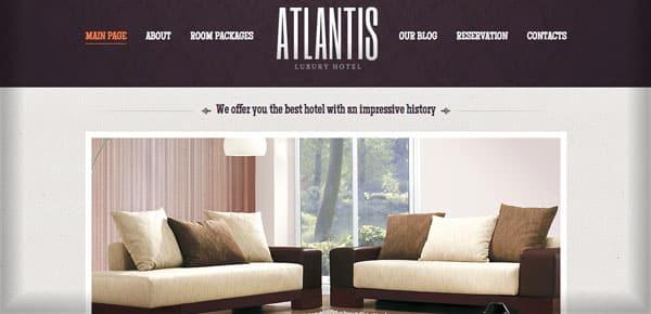 Theme WordPress - Atlantis