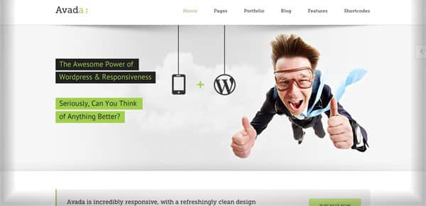 Theme WordPress - Avada