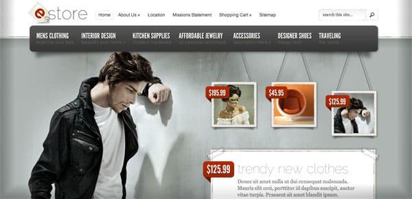 Theme WordPress - eStore