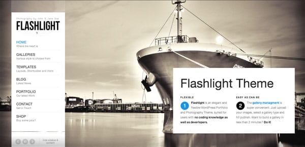 Theme WordPress - Flashlight