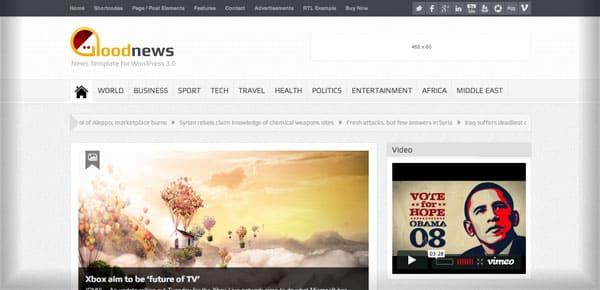 Theme WordPress - Goodnews