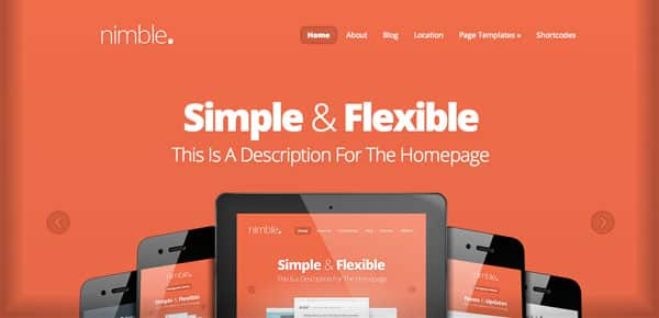 Theme WordPress - Nimble