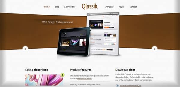 Theme WordPress - Qlassik
