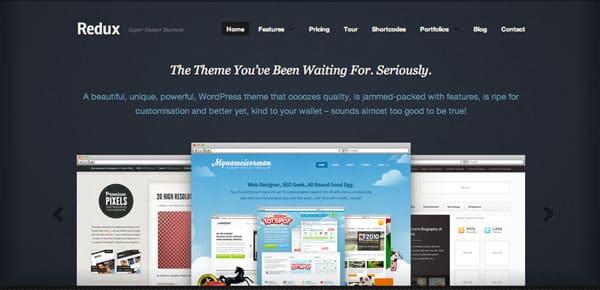 Theme WordPress - Redux