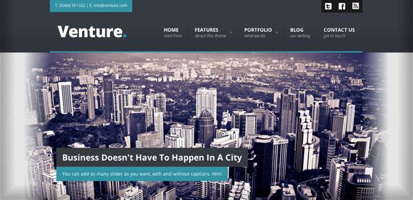 Theme WordPress - Venture