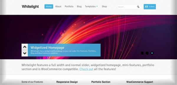 Theme WordPress - Whitelight