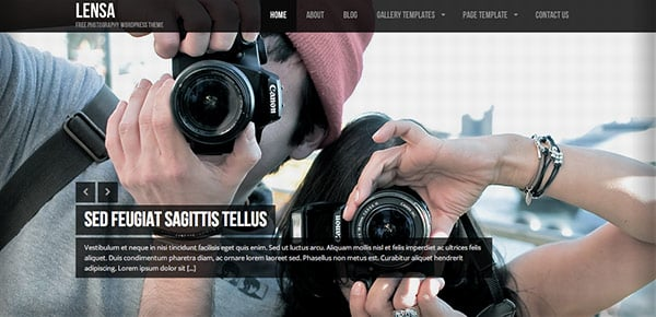 Template WordPress Gratuit - Lensa