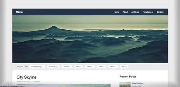 Template WordPress Gratuit - Meeta