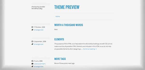 Template WordPress Gratuit - Minimalizine