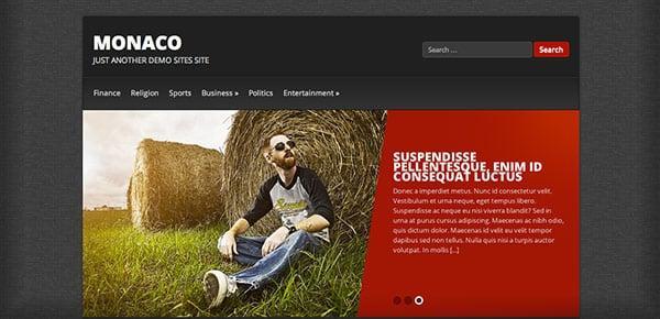 Template WordPress Gratuit - Monaco