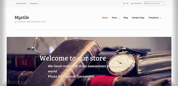 Template WordPress Gratuit - Mystile