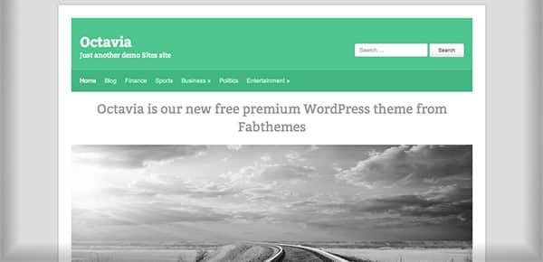 Template WordPress Gratuit - Octavia