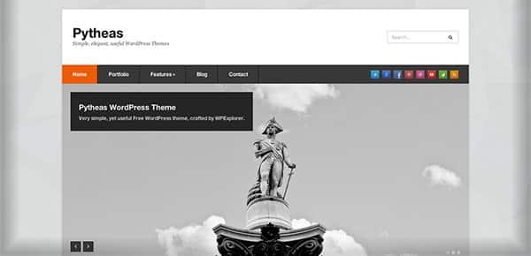 Template WordPress Gratuit - Pytheas