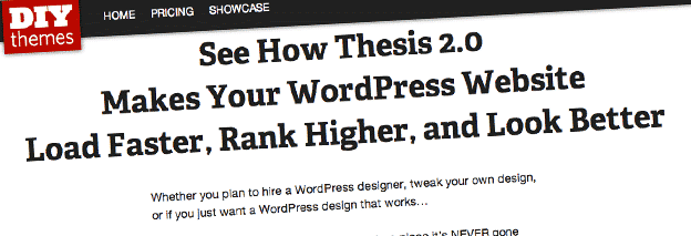 thesis plugin for wordpress