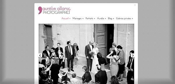 Theme WordPress - Aurelie Allanic