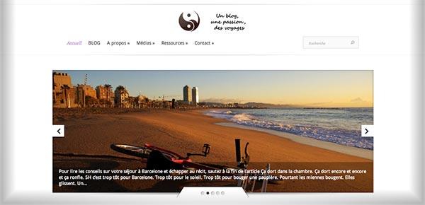 Theme WordPress - Bien Voyager