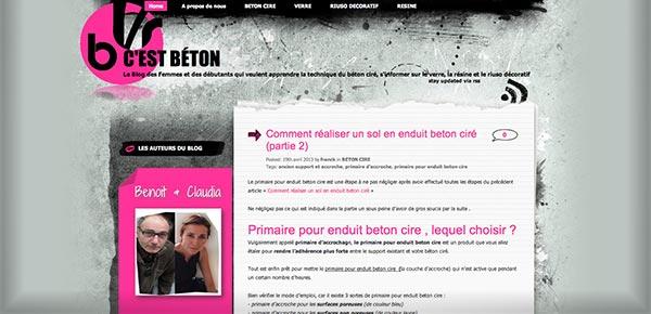 Theme WordPress - CestBeton