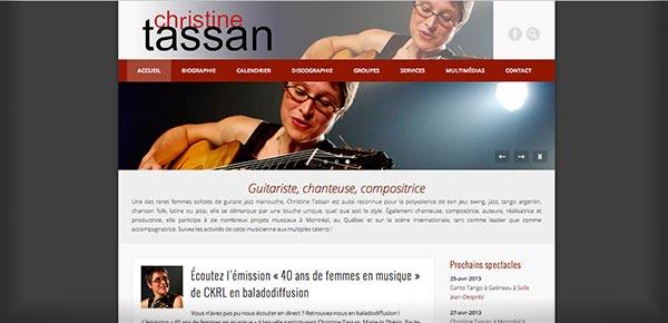 Theme WordPress - Christine Tassan