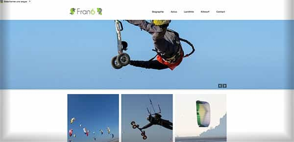 Theme WordPress - Fran6