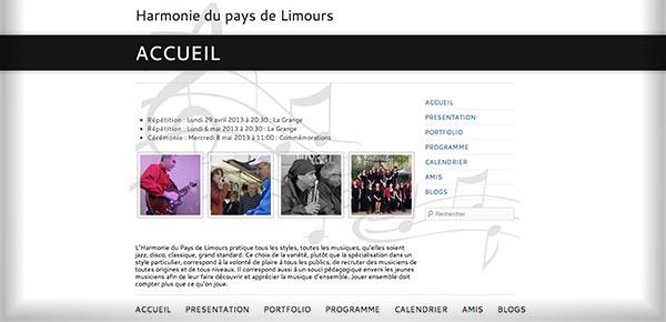 Theme WordPress - Harmonie Pays de Limours