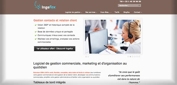 Theme WordPress - Ingefox
