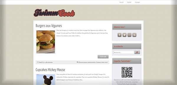 Theme WordPress - TwimmCook