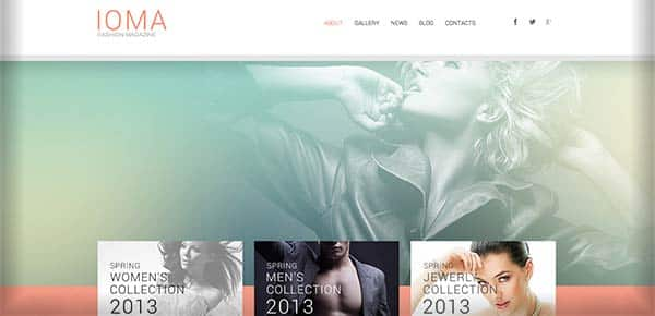 Template WordPress - Ioma