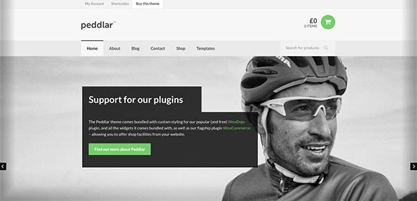 Template WordPress - Peddlar