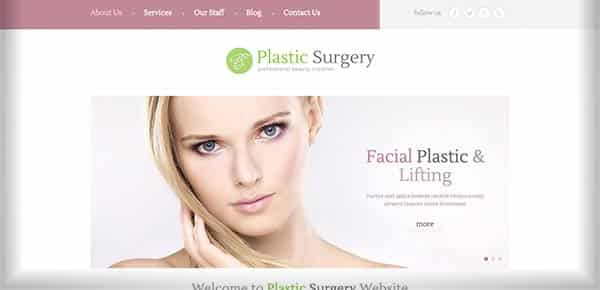 Template WordPress - PlasticSurgery