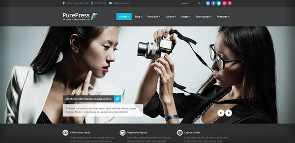 Template WordPress - Purepress