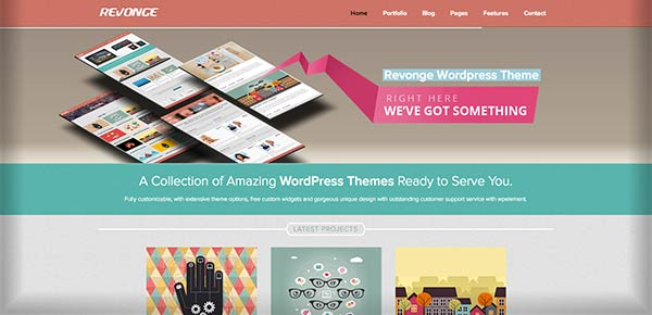 Template WordPress - Revonge