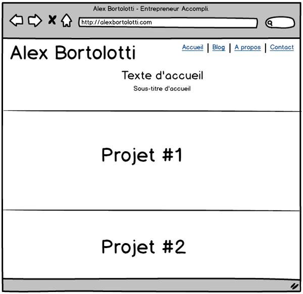 Maquette - Alex Bortolotti