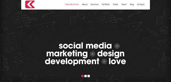 Template WordPress - Kronos