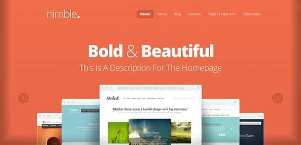 Template WordPress - Nimble