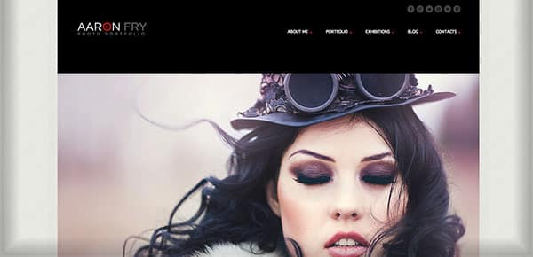 Template WordPress - AaronFry