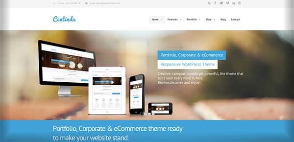 Template WordPress - Centindu