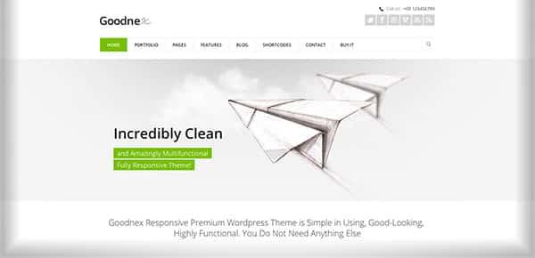 Template WordPress - Goodnex