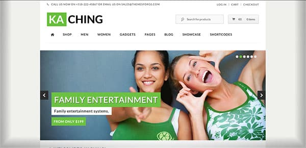 Template WordPress - Kaching