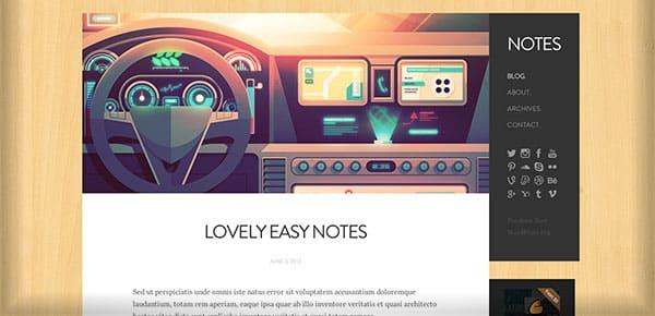 Template WordPress - Notes