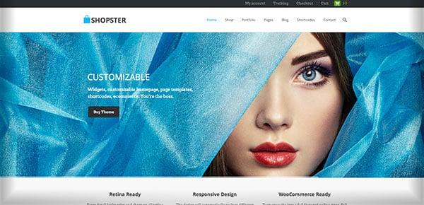 Template WordPress - Shopster