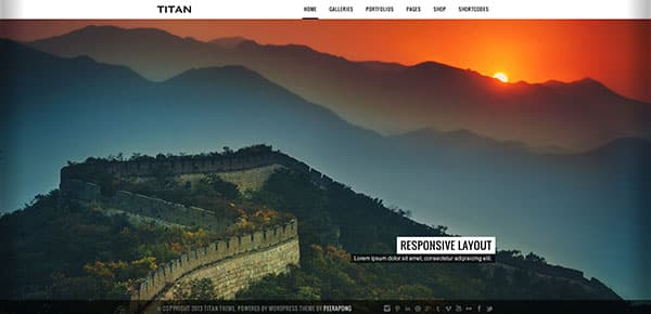 Template WordPress - Titan