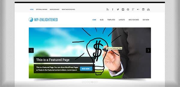 Template WordPress - WP Enlightened