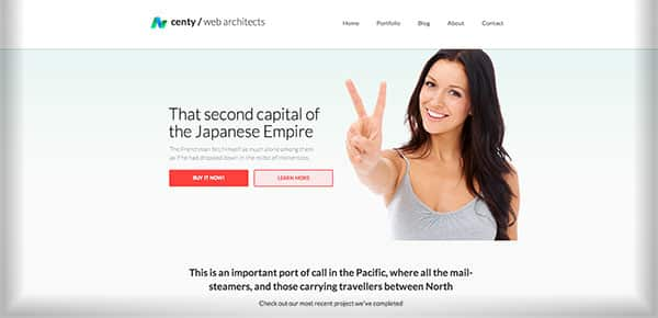 Theme WordPress - Centy
