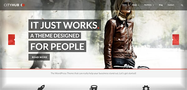 Theme WordPress - Cityhub