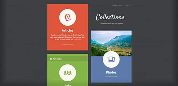 Theme WordPress - Collections